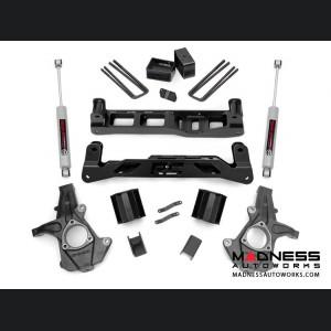 """Chevy Silverado 1500 2WD Suspension Lift Kit w/ Premium N3 Shocks - 5"""" Lift"""